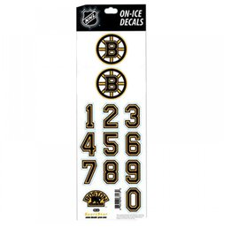 Наклейки на шлем Boston Bruins