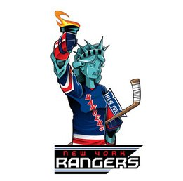 Наклейка New York Rangers Mascot