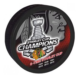 Шайба Chicago Blackhawks Staley Cup Champions 2015