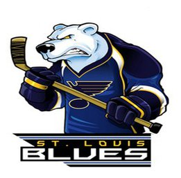 Наклейка St. Louis Blues Mascot
