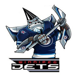 Наклейка Winnipeg Jets Mascot