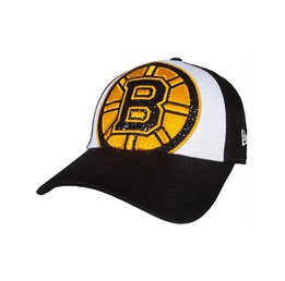 Бейсболка Boston Bruins New Era Glitter Glam 9FORTY Adjustable Hat Womens
