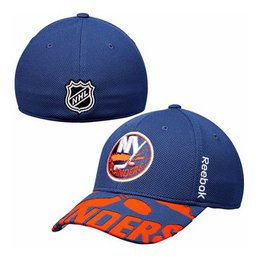 Men's New York Islanders Reebok Royal 2015 NHL Draft Structured Flex Hat