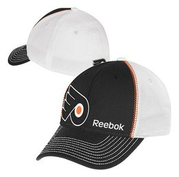 Купить Бейсболка Reebok Philadelphia Flyers Structured Flex Hat - Black/White