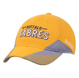 Купить Reebok Buffalo Sabres Practice Flex Hat - Yellow