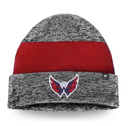 Купить Шапка Men's Washington Capitals Gray/Red Static Cuffed Knit Hat
