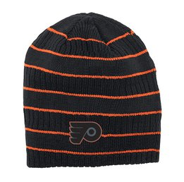Купить Шапка Mens Philadelphia Flyers Reebok Black Cross Check Cuffless Knit Beanie