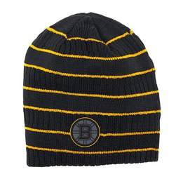 Купить Шапка Mens Boston Bruins Reebok Black Cross Check Cuffless Knit Beanie