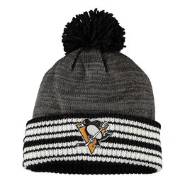 Купить Шапка Men's Pittsburgh Penguins adidas Charcoal Blacktop Cuffed Pom Knit Hat