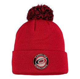 Купить Шапка Men's Carolina Hurricanes Zephyr Red Seal Cuffed Knit Hat
