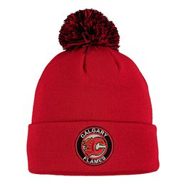 Купить Шапка Men's Calgary Flames Zephyr Red Seal Cuffed Knit Hat