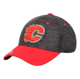 Купить Бейсболка Men's Calgary Flames Reebok Two-Tone Structured Flex Hat - Charcoal/Red