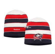 Купить Шапка Reebok Columbus Blue Jackets Knit Hat