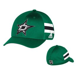 Men's Dallas Stars adidas Kelly Green 2017 Draft Structured Flex Hat