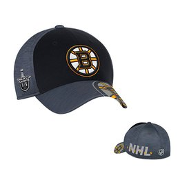 Men's Boston Bruins Reebok Black 2017 NHL Stanley Cup Playoffs Participant Flex Hat