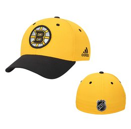 Men's Boston Bruins adidas Gold Centennial Structured Flex Hat