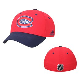 Men's Montreal Canadiens adidas Red Centennial Structured Flex Hat