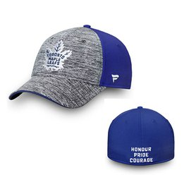 Men's Toronto Maple Leafs Fanatics Heathered Gray/Blue 2018 Stadium Series Speed Stretch Flex
