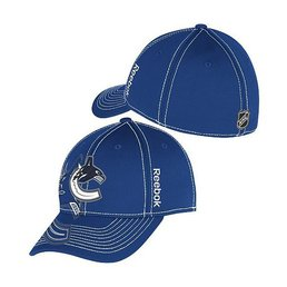 Бейсболка Mens Vancouver Canucks Reebok Flex Hat