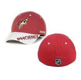 Mens Arizona Coyotes Reebok Red Flex Hat