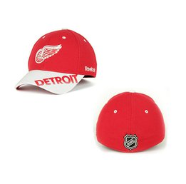 Men's Detroit Red Wings Reebok Red Flex Hat