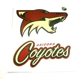 Наклейка Arizona Coyotes
