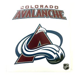 Наклейка Colorado Avalanche
