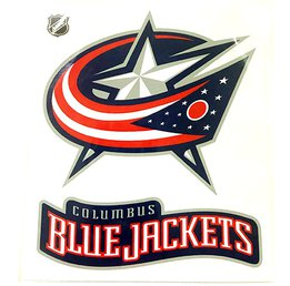 Наклейка Columbus Blue Jackets