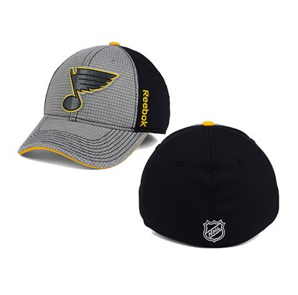 St. Louis Blues Reebok Center Ice Travel & Training Two-Tone Flex Hat