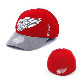 Купить Men's Detroit Red Wings Reebok Playoffs Flex Cap