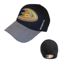 Купить Men's Anaheim Ducks Reebok Black Playoffs Cap Flex Hat