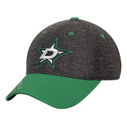 Купить Dallas Stars Reebok Youth Playoff Structured Flex Hat - Black